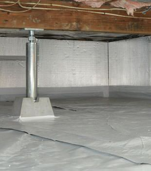 crawl space insulation in Greenfield