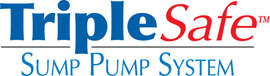 Sump pump system logo for our TripleSafe