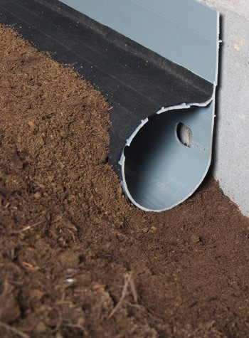 Crawl Space Drain System Installed In Webster